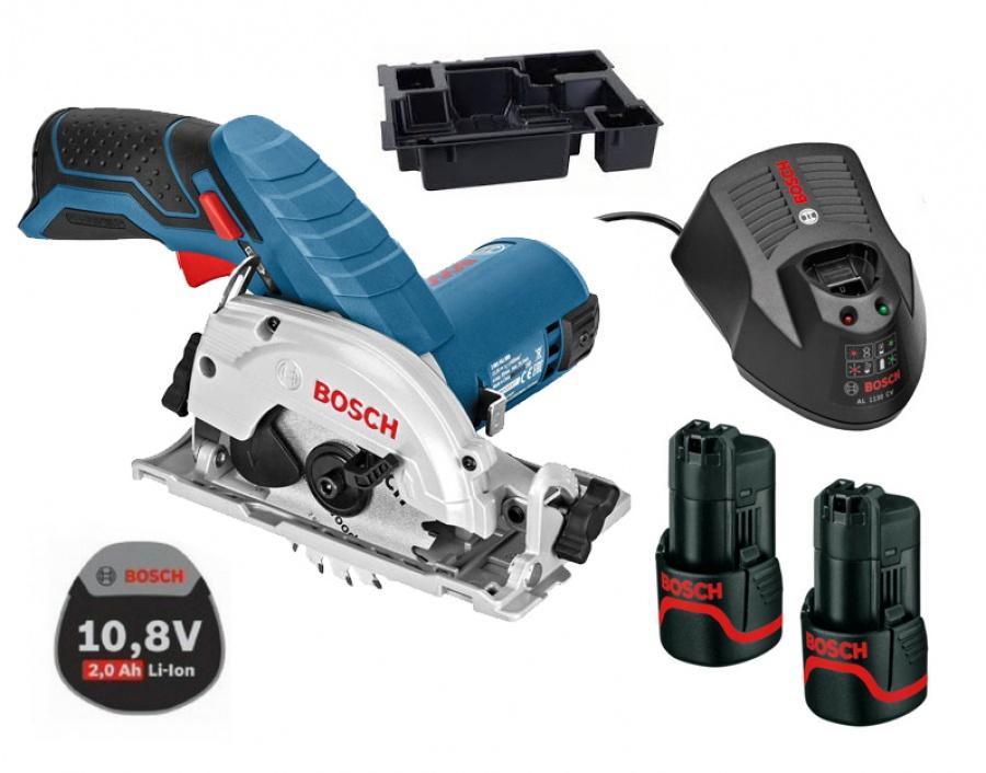 Sega circolare a batteria Bosch GKS 10,8 V-LI