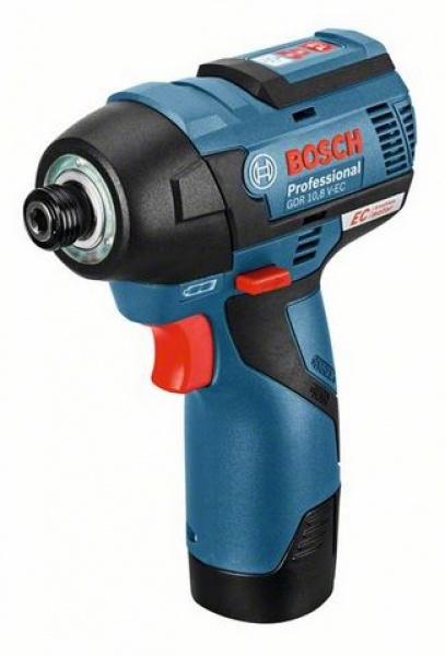 Trapano avvitatore Bosch GDR 10,8 V-EC Professional con batterie