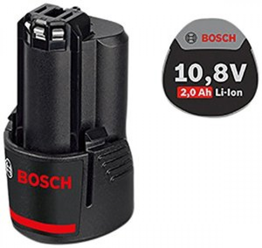 Batteria Li-Ion 10,8 V 2,0 ah Bosch GBA O-B Professional