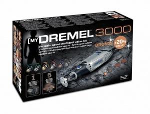 Confezione Utensile multifunzione Dremel 3000-1/5 Kit Bronze
