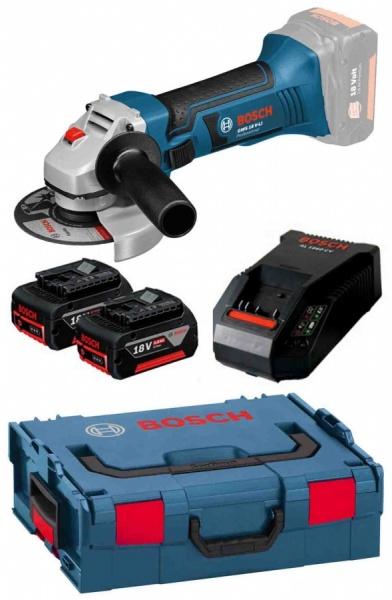 Smerigliatrice angolare Bosch GWS 18 V-LI Professional con batteria