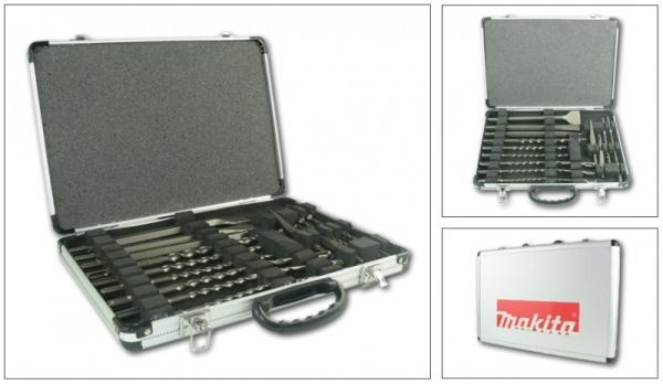 Set scalpelli e punte Maktia SDS-Plus D-21200