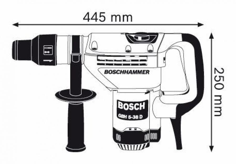 martello demolitore rotativo bosch gbh 5 38 d professional ferramenta carozzi. Black Bedroom Furniture Sets. Home Design Ideas