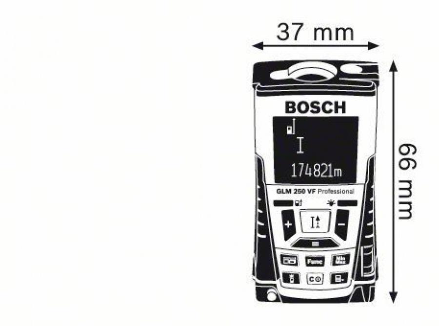 Bosch GLM 250 VF Misuratore laser - dettaglio 5