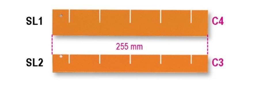 Separatore longitudinale  beta sl/1-2 - dettaglio 1