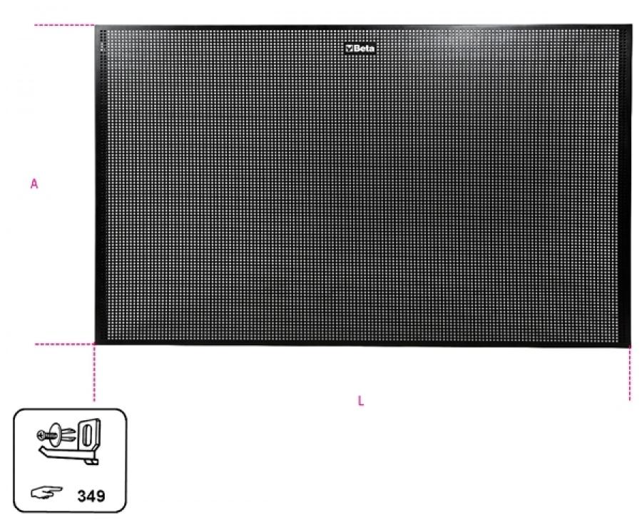 Pannello portautensili  beta pv 1 - dettaglio 1