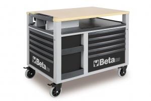 Carrello con assortimento utensili beta 2800g/vi2t - dettaglio 1