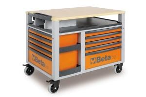 Carrello con assortimento utensili beta 2800o/vg2t - dettaglio 1