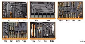 Assortimento utensili beta 5904vg/5t - dettaglio 1