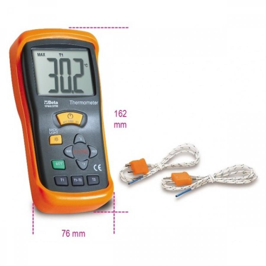 termometro digitale beta 1760/2TM a due uscite